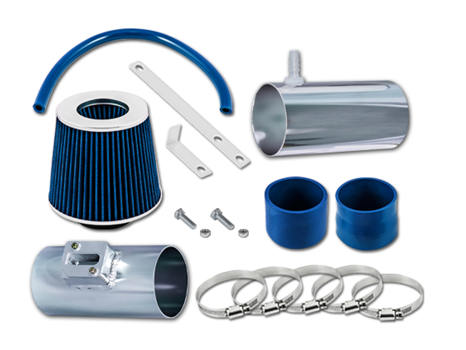 BLUE 2007-2013 ACURA MDX 3.7 3.7L V6 AIR INTAKE KIT INDUCTION SYSTEMS FILTER