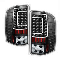07-13 Chevy Silverado 1500 2500 3500 Full LED Performance Tail Lights - Black