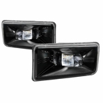 07-13 Chevy Silverado Front Bumper LED Fog Lights