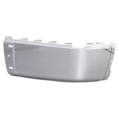 07-13 Chevy Silverado GMC Sierra 1500 2500HD 3500HD Chrome Steel w/Sensor Hole Rear Bumper End Cap Passenger Right