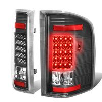 07-13 Chevy Silverado / GMC Sierra LED Tail Lights - Black