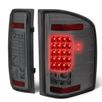 07-13 Chevy Silverado / GMC Sierra LED Tail Lights - Smoked