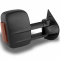 07-13 Chevy Silverado Manual Extendable - POWER Heated Adjust Mirror with LED Signal Amber - Passenger Side