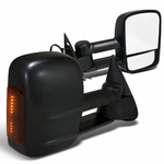 07-13 Chevy Silverado Suburban Tahoe Avalanche / GMC Sierra Yukon [Power|Heated] Tow Side Mirror - LED Amber
