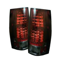 07-13 Chevy Suburban / Tahoe / Yukon Performance LED Tail Lights - Red / Smoked ALT-YD-CSUB07-LED-RS By Spyder