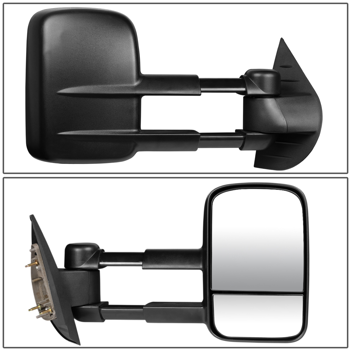 MANUAL ADJUSTMENT SIDE TOW TOWING MIRROR RIGHT FOR 07-13 GMC YUKON//CHEVY TAHOE
