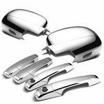 07-13 GMC Yukon, Yukon XL 4DR Chrome Plated Door Handle + Mirror Cover Trim