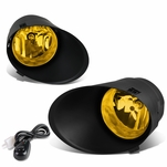 07-13 Toyota Tundra / Sequoia Pair of Bumper Round Driving Fog Lights+Switch (Amber Lens)
