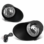 07-13 Toyota Tundra / Sequoia Pair of Bumper Round Driving Fog Lights+Switch (Clear Lens)