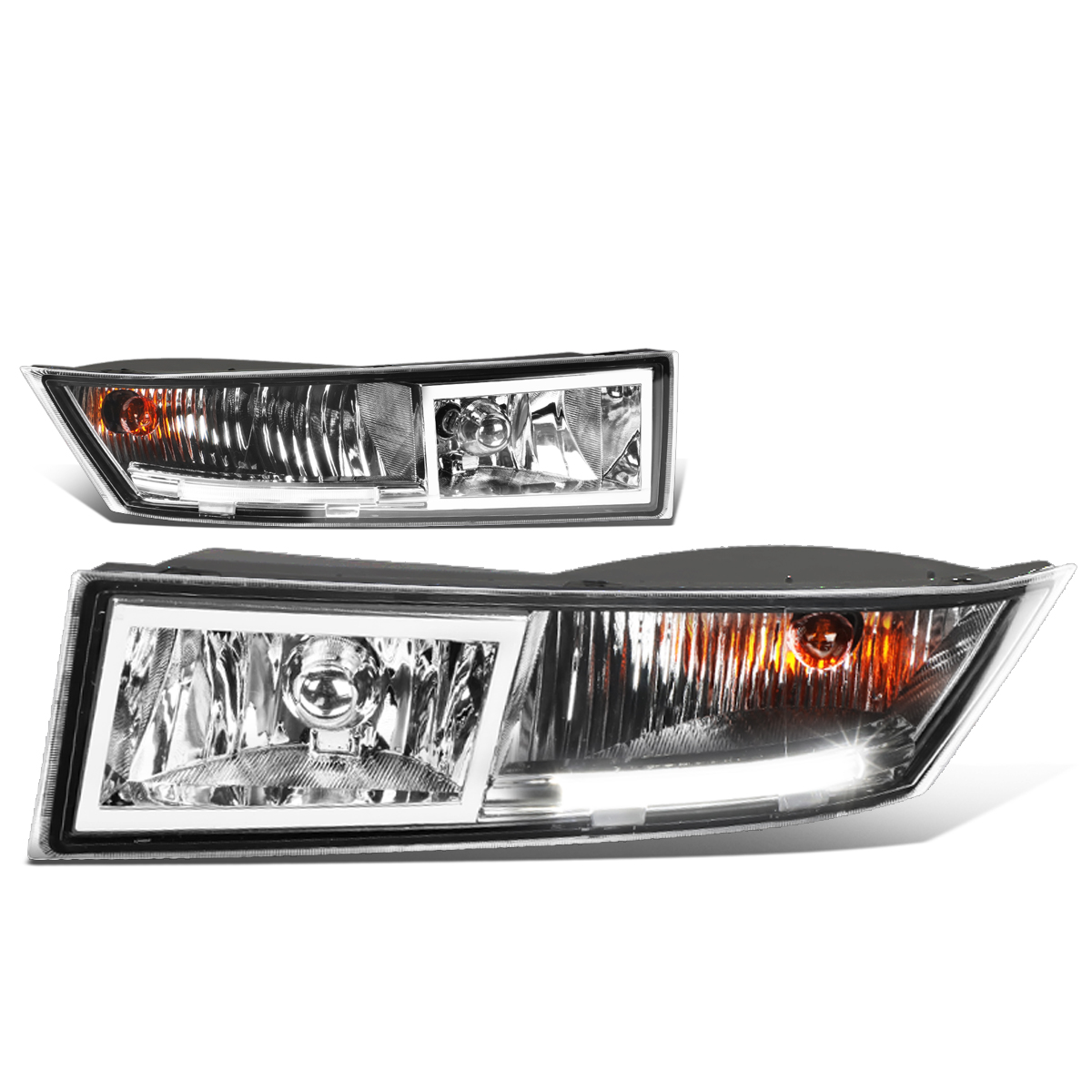 07-14 Cadillac Escalade ESV EXT Pair Of Bumper Driving LED