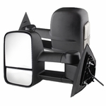 07-13 Chevy Silverado Suburban Tahoe Avalanche / GMC Sierra Yukon [Power|Heated] Tow Side Mirror - LED Clear