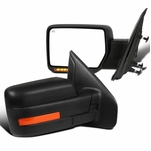 07-14 Ford F150 Power Heat Side View Mirrors Left+Right w/ LED Signal+Puddle