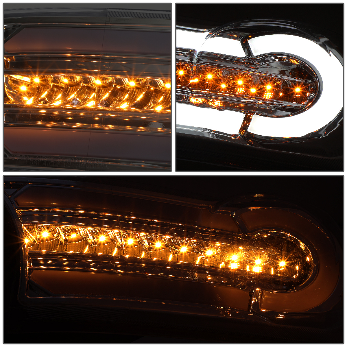 07-14 Toyota FJ Cruiser LED DRL [Sequential Signal] Halo Headlights