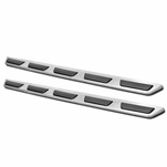 07-15 Audi Q7 Stainless Silver Side Step Bars Running Boards