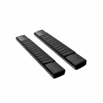 2007-2018 Chevy Silverado 1500/2500HD/3500 Regular Cab OE-Style Aluminium Running Board (Black)