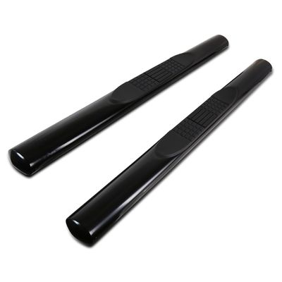 "07-16 Jeep Wrangler 2DR 4"" Oval Side Step Nerf Bar - Black"
