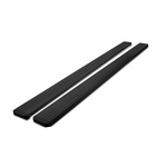 "07-16 Silverado Sierra 1500/2500/3500 Crew Cab 5"" Black Aluminum Side Step Bars"