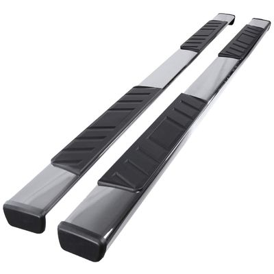 """07-16 Toyota Tundra [Double Cab] 4"""" Flat-Style Side Step Nerf Bar Running Board - Chrome"""