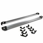 """07-16 Toyota Tundra (Double Cab / Short Bed) 5.25"""" Brushed Side Nerf Step Bar Lighted Running Boards"""