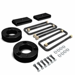 "07-17 Chevy Silverado/GMC Sierra 1500 Black 3"" Front Spacer + 1"" Rear Block Leveling Lift Kit"