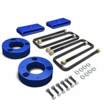 "07-17 Chevy Silverado/GMC Sierra 1500 Blue 3"" Front Spacer + 1"" Rear Block Leveling Lift Kit"