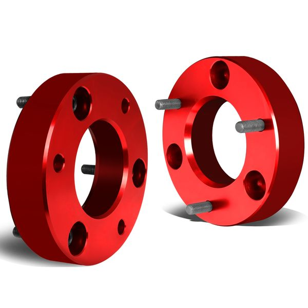 "07-17 Chevy Silverado / GMC Sierra [1500 Model] Red Front 2"" High Mount Leveling Lift Kit Spacers"