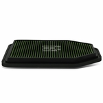 07-17 Jeep Wrangler 3.6L / 3.8L Reusable & Washable Replacement High Flow Drop-in Air Filter (Green)