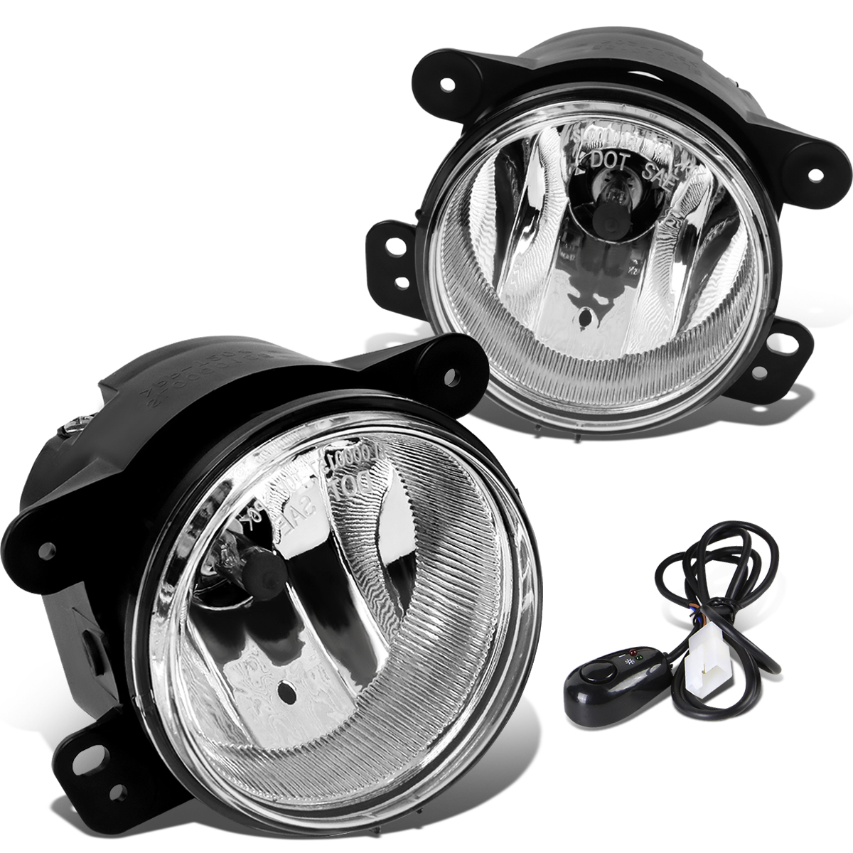 07-17 Jeep Wrangler JK Pair of Driving Bumper Fog Lights + ... on jeep wrangler dash lights, jeep wrangler bumper fog lights, jeep wrangler light kits, toyota tundra fog light wiring, jeep wrangler hid fog lights, jeep wrangler interior lights, chevy colorado fog light wiring, jeep wrangler led conversion, chrysler 300 fog light wiring, jeep cj7 engine wiring harness, jeep wrangler back up lights, jeep wrangler oem fog lights, jeep wrangler check engine light, mini cooper fog light wiring, jeep led grill lights, dodge ram 1500 fog light wiring, jeep wrangler alarm, jeep wrangler fog lights install, jeep wrangler led fog lights, ford ranger fog light wiring,