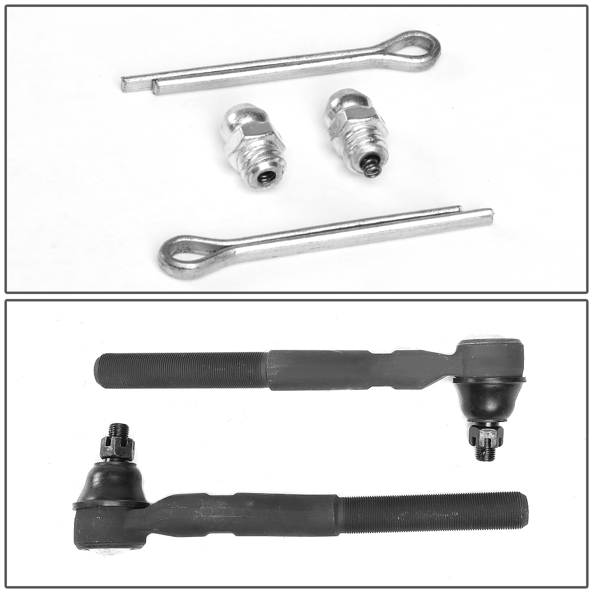 07-18 Jeep Wrangler JK Pair Front Outer Steering Tie Rod
