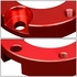 """07-18 Toyota Tundra Pair 3"""" Front+2"""" Rear Strut Top Mount Suspension Leveling Lift Kit - Red"""