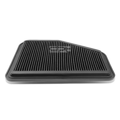 08-09 Pontiac G8 / Chevy Caprice / SS Reusable & Washable Replacement High Flow Drop-in Air Filter (Black)