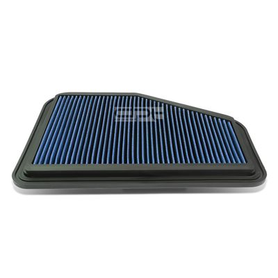 08-09 Pontiac G8 / Chevy Caprice / SS Reusable & Washable Replacement High Flow Drop-in Air Filter (Blue)