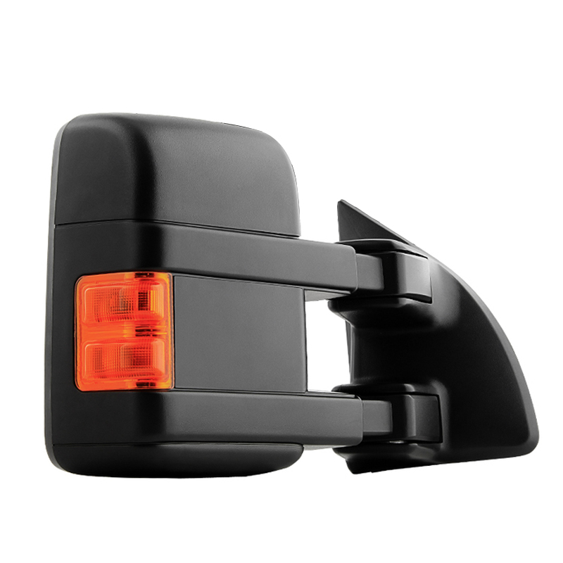 MANUAL TOW TOWING SIDE MIRROR W//AMBER LED SIGNAL RIGHT FOR 08-16 FORD SUPER DUTY