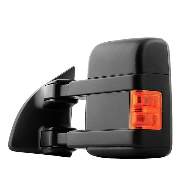 08-16 Ford F250/350/450/550 Super Duty Power Adjust Heated Extend Tow Mirror [LED Signal] - Driver Side