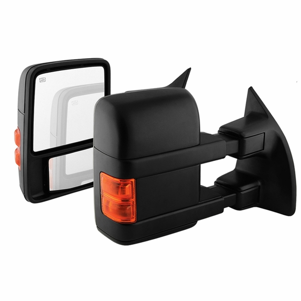 08-16 Ford F250/350/450/550 Super Duty Power Adjust Heated Extend Tow Mirror - Pair