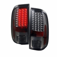 08-16 Ford F250 / F350 Superduty Euro LED Tail Lights - Smoked
