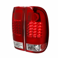 08-16 Ford F250~F550 SuperDuty LED Tail Lights - Red