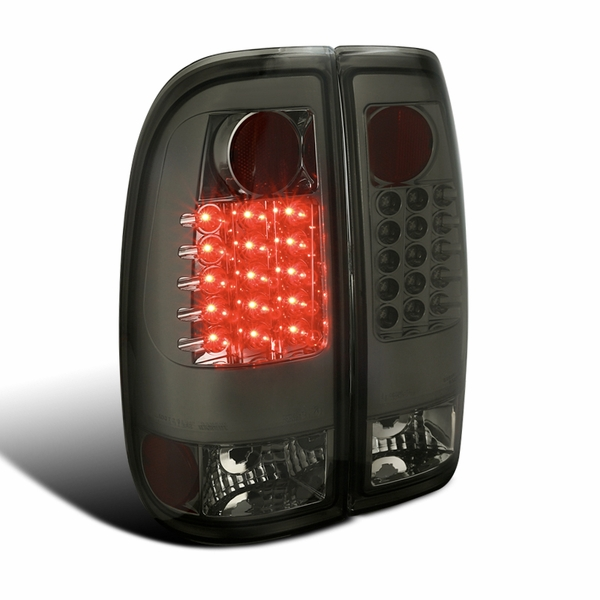 08-16 Ford F250~F550 SuperDuty LED Tail Lights - Smoked