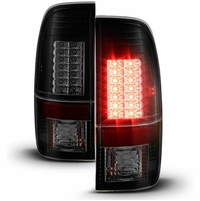 08-16 Ford Superduty F250-F450 LED Tail Lights|Black Smoked