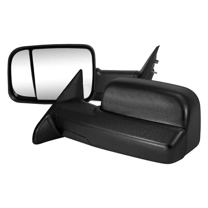 Factory Style Tow Mirrors 09 12 Dodge Ram 1500 Power Flip Up Towing Trailer Side Mirrors W Heated Protuninglab Com