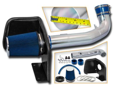 09-13 Chevy Silverado 1500 [4.8 / 5.3 / 6.0 / 6.2] Heat Shield Air Intake - Blue