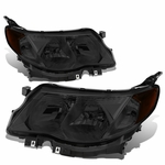 09-13 Subuaru Forester Replace Crystal Headlights -  Smoked / Amber