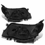 09-13 Subuaru Forester Replace Crystal Headlights -  Smoked / Clear