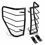 09-14 Ford F-150 Pick-Up Black Coated Steel Tail Light/Lamp Guard+Mounting Kit