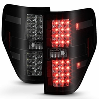 09-14 Ford F150 Performance LED Tail Lights - Black Smoked