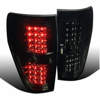 09-14 Ford F150 Pickup LED Tail Lights - Smoked