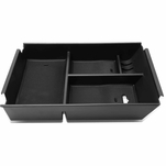09-14 Ford F150 Removable Center Console Storage Box Armrest Organizer Tray