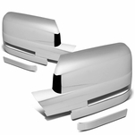 09-14 Ford F150 [With Turn Signal Lens] Chrome Plated Side Mirror Cover