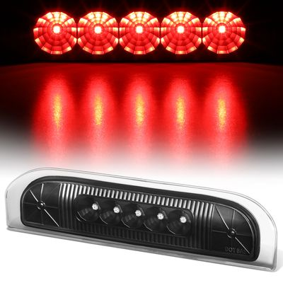 09-14 Nissan Cube LED Third 3rd Tail Brake Light Lamp Bar - Black