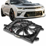 09-18 Dodge Charger Challenger OE Style Radiator Cooling Fan Shroud Kit CH3115169